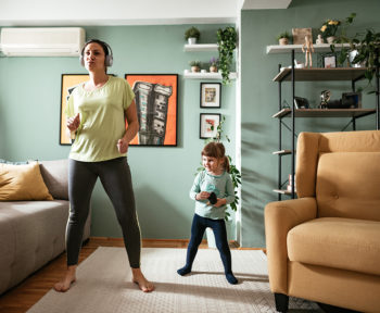 why financial fitness is as important as physical health_woman dancing to the tune of better physical and financial health