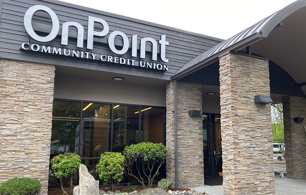 Front exterior of OnPoint Keizer Branch