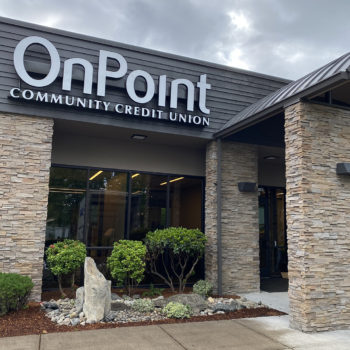 Exterior front of new OnPoint Keizer branch