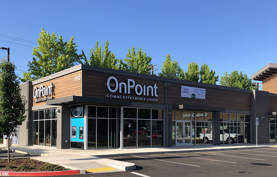 Exterior of OnPoint West Salem Branch
