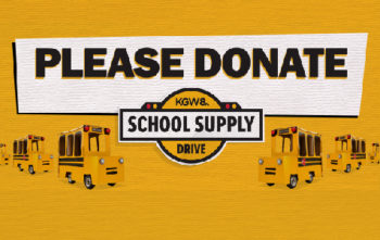 KGW School Supply Drive 2020