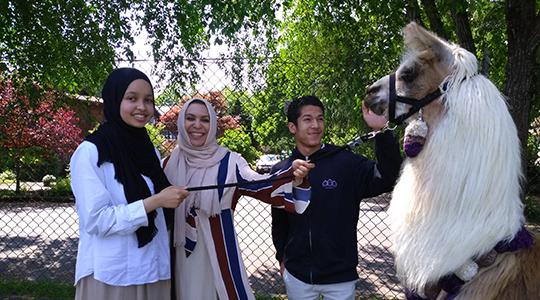 Holy Family student celebrates diversity