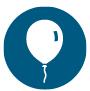 Icon of balloon