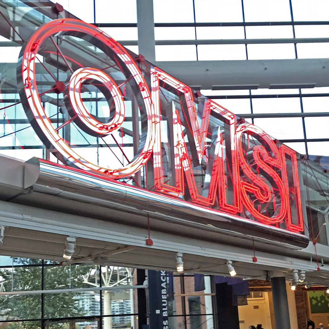 Annual OMSI Teacher Open House 2019_OMSI sign
