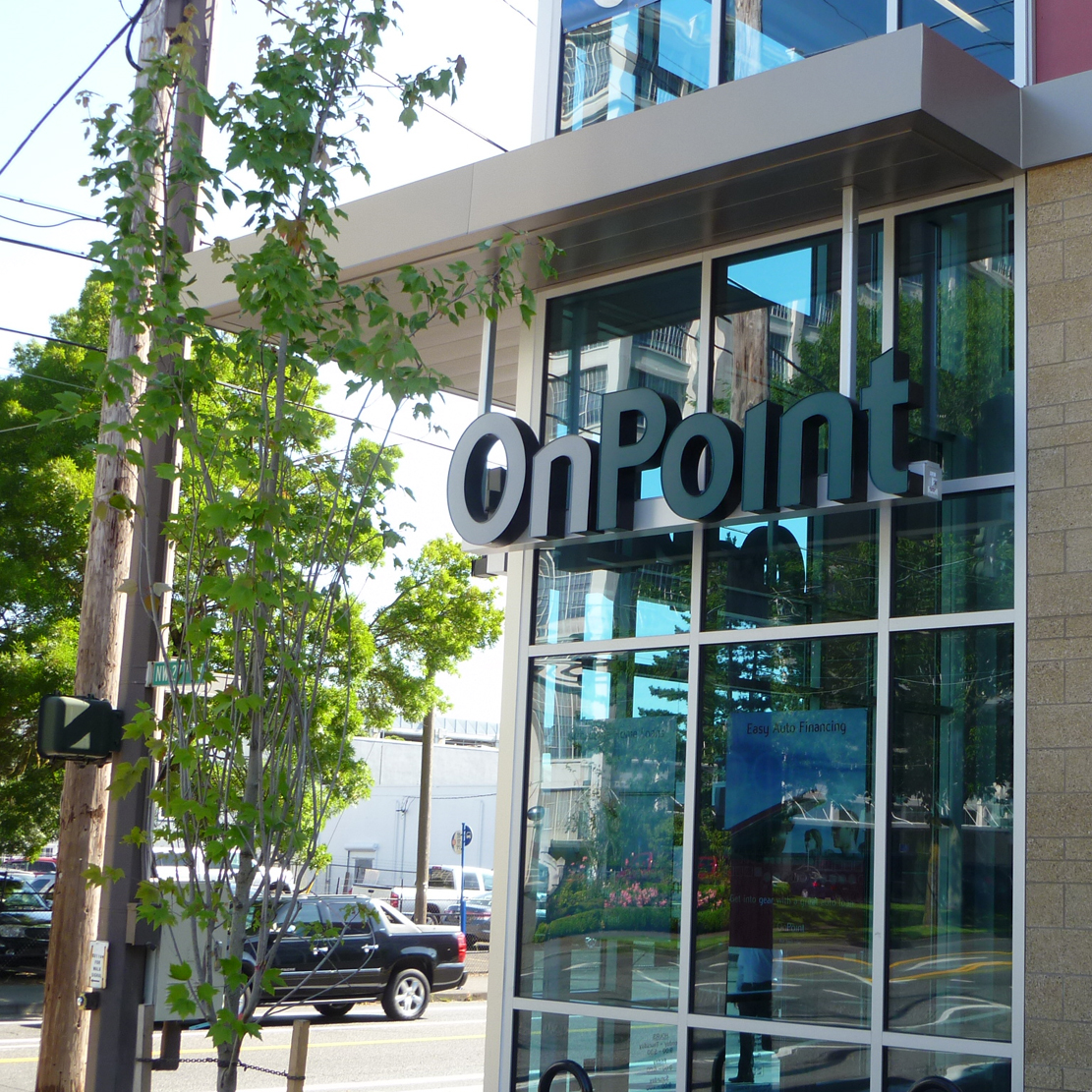 International Credit Union Day 2019_Front of the branch - visit OnPoint on ICU DAY