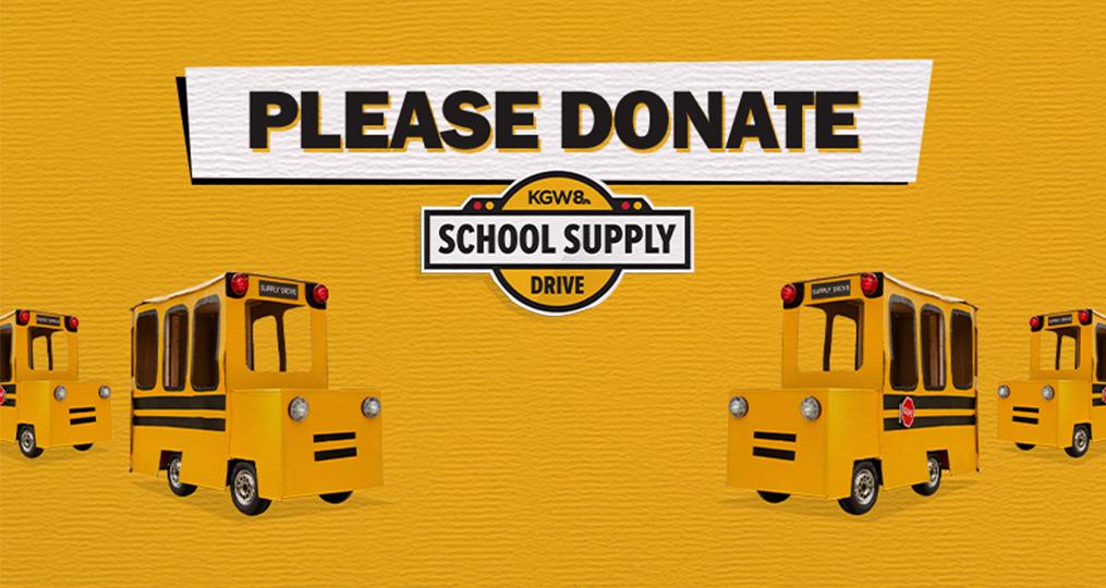 KGW School Supply Drive 2020