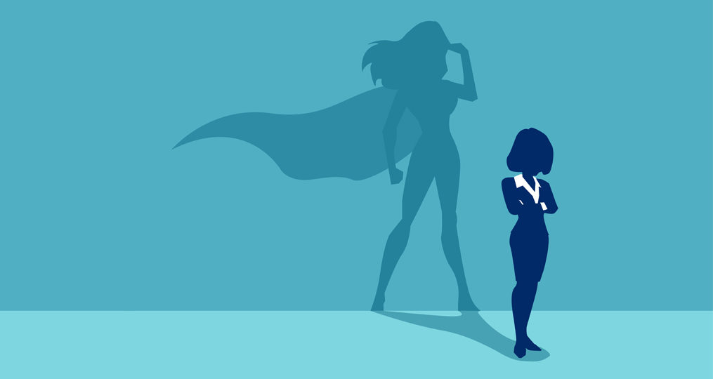 Spotlight Interviews with OnPoint Regional Managers_super business woman illustration