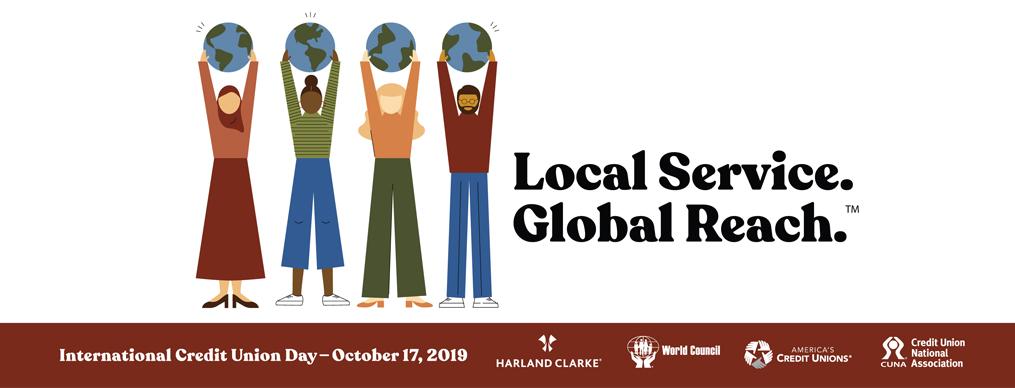 ICU Day Local Service Global Reach Logo