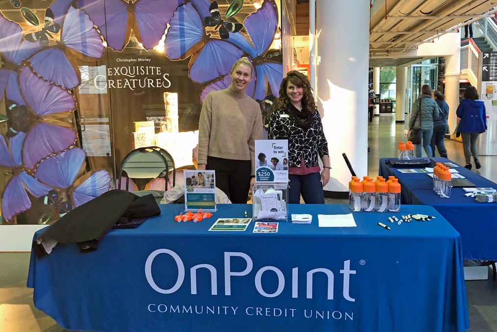 Annual OMSI Teacher Open House 2019_OnPoint information booth