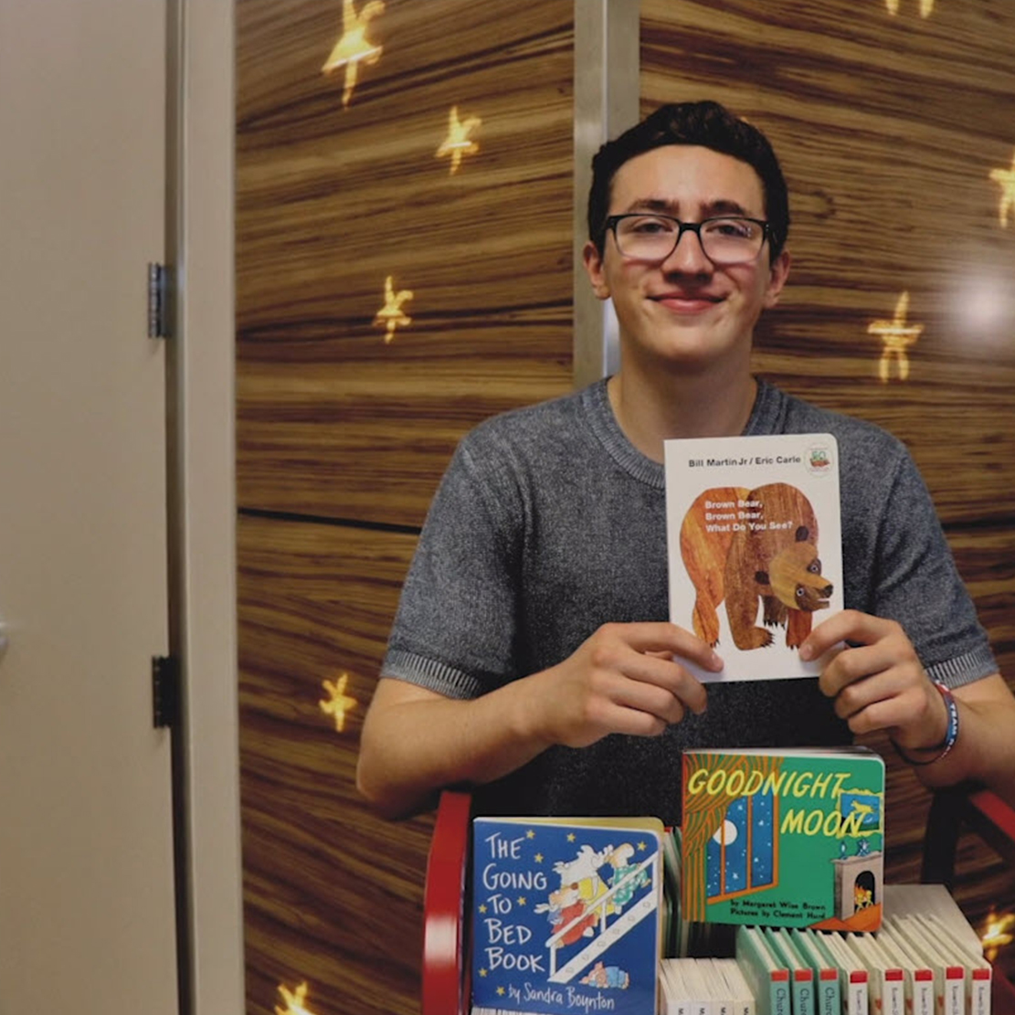 Babies With Books: Local Teens Promoting Strong Family Bonds