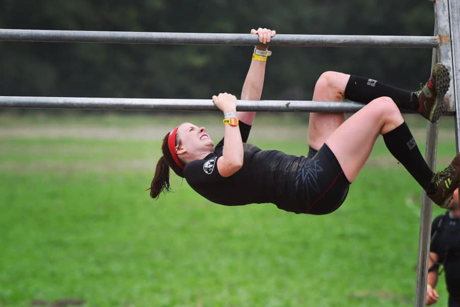 Employee Spotlight with Bethany Schimmer_Bethany competing at Spartan Race