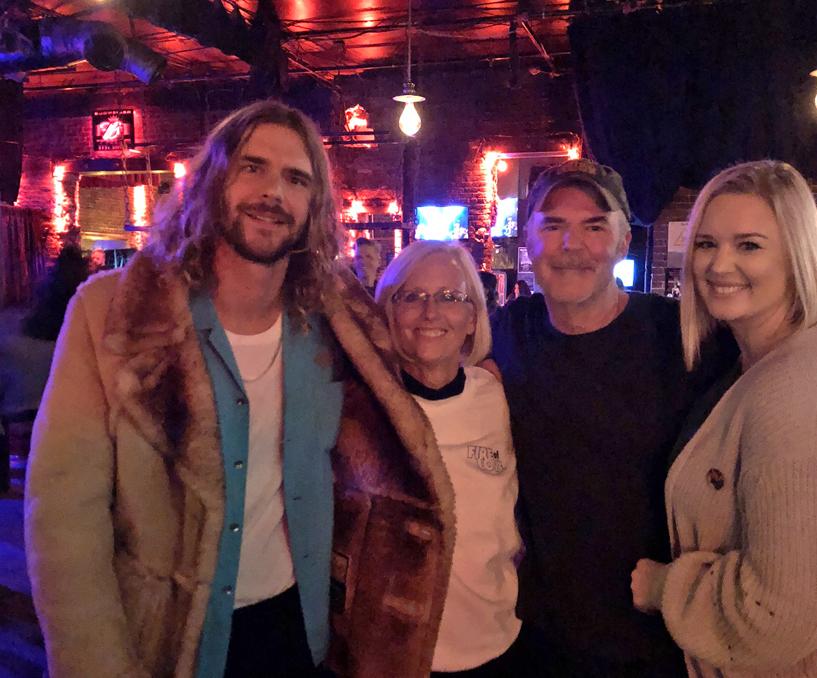Terri Hunter employee spotlight_Terri enjoying a night out with friends