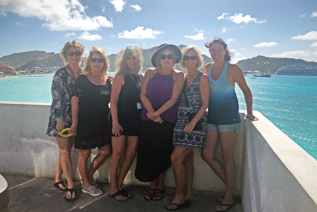 Terri Hunter employee spotlight_Terri on a cruise with her friends