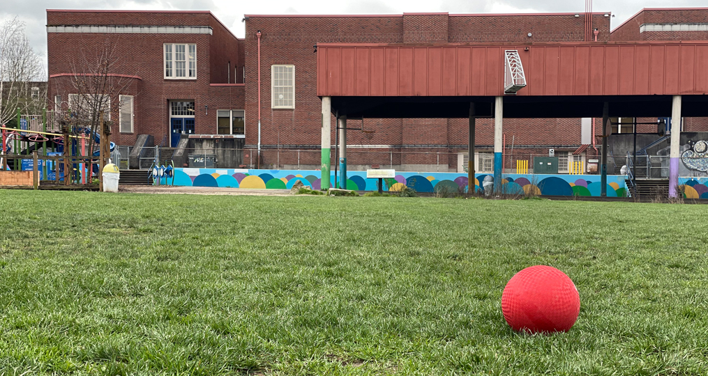 Grout Elementary's Improved Field Cultivates Healthy Students and Community - picture of the Grout field