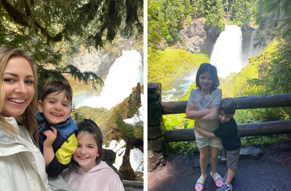 Employee Spotlight Interview with Courtney Sanders_hiking with kids