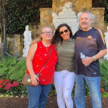 Employee Spotlight Interview with Sunny Salimi_Sunny traveling with her parents