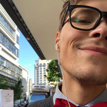 Eric Steffen Employee Spotlight_Eric with bowtie selfie