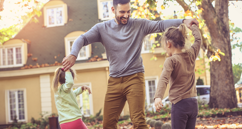 How to future-proof your finances_Dancing with daughters in the backyard