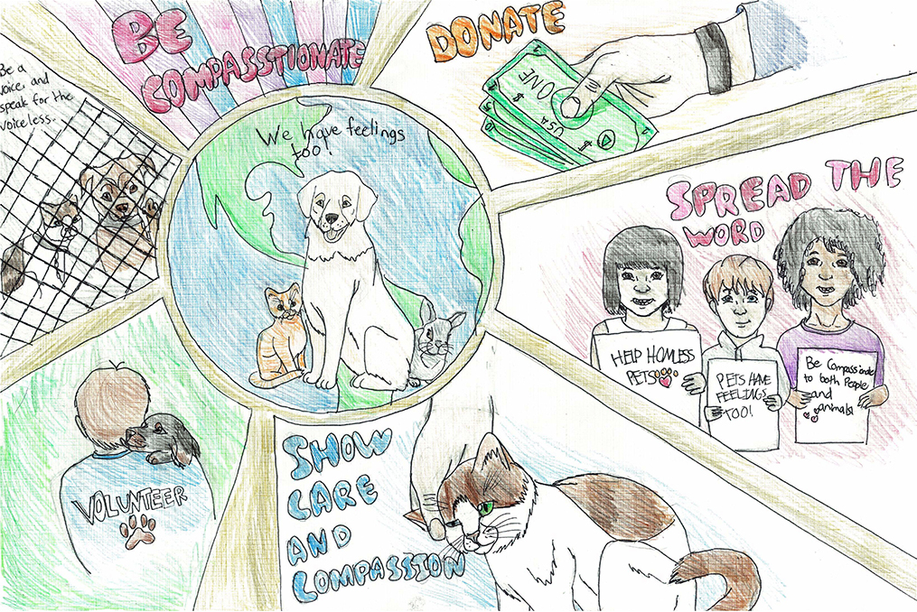 Oregon Humane Society—Adapting to Unprecedented Challenges_poster contest winner