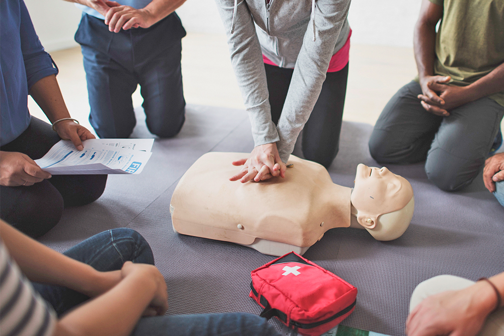 Red Cross Cascades Region Helps Communities Recover_Basic Life Support Training Class