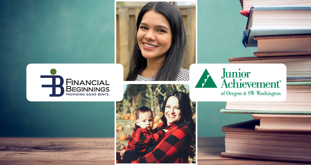 Sharing Financial Knowledge Fuels Two OnPoint Employee Volunteers_Araceli and Brianna