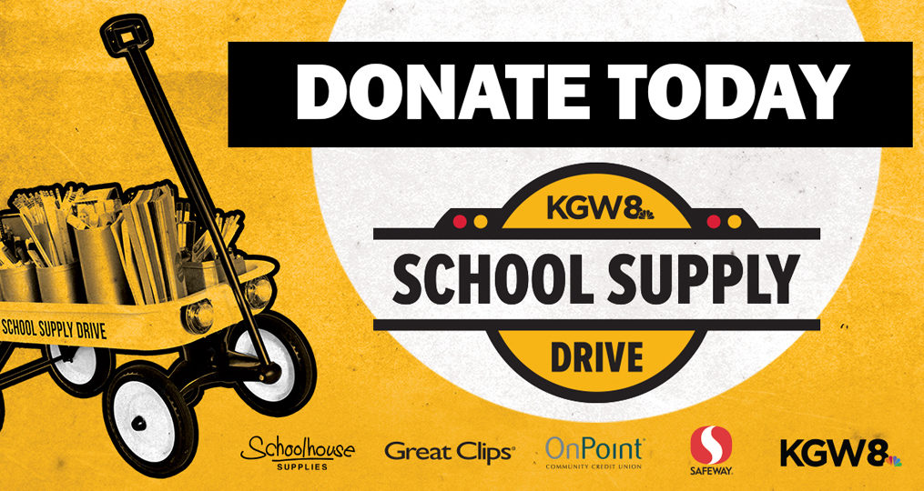 Supporting Students and Teachers through the KGW School Supply Drive