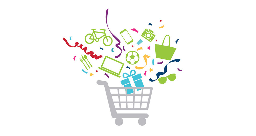 OnPoint Credit Card with Rewards Members Can Win a Magical Shopping Spree_grocery cart magic minute logo