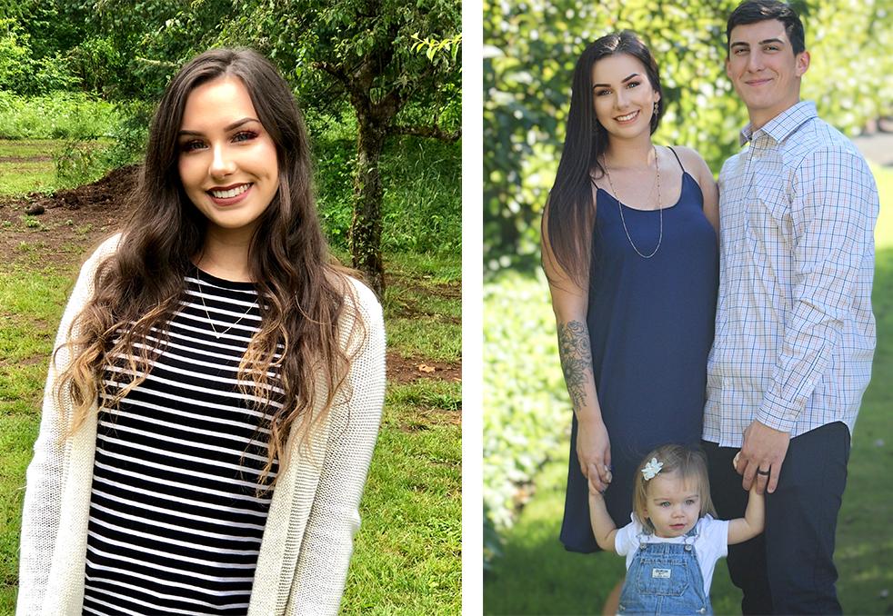 Alyssa York Employee Spotlight_Alyssa and family