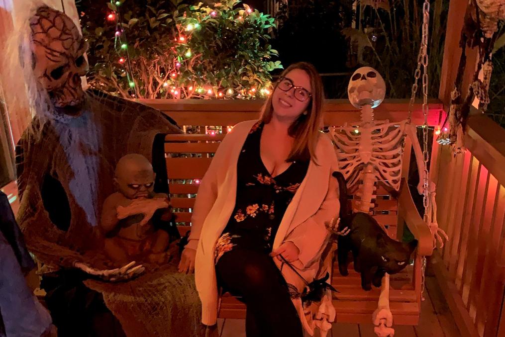 Employee Spotlight with Andrea Belz_Andrea Halloween photo