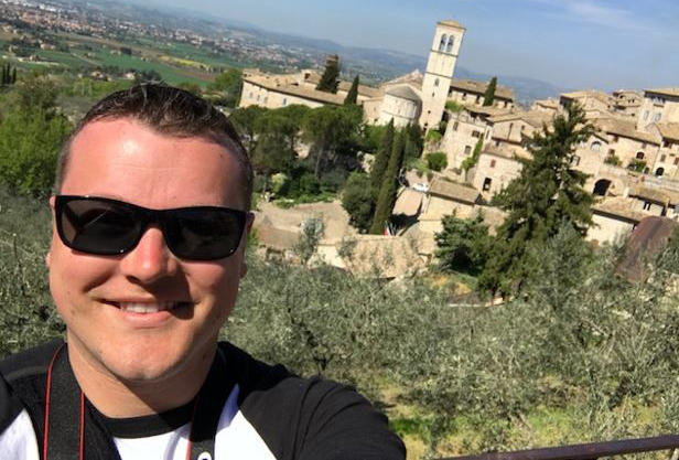 Jason Desilet Employee Spotlight_Jason vacation selfie