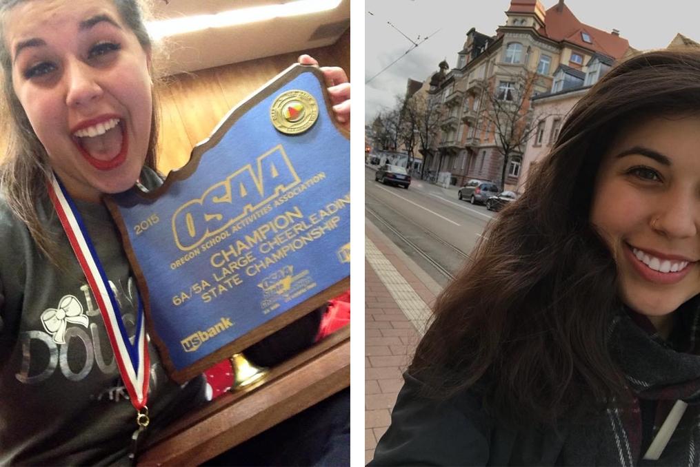 Samara Bonsey employee spotlight_Samara Bonsey selfie and state championship