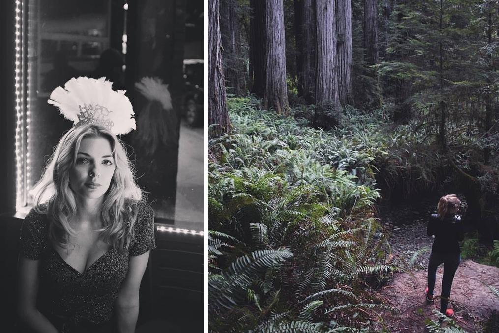 Amanda Dugdale NYE and Hiking