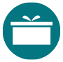 Icon of gift box