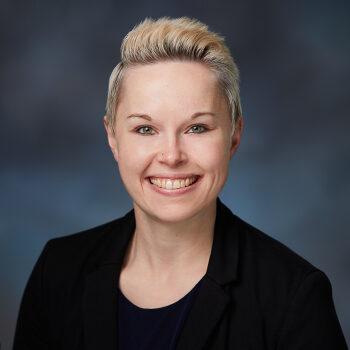 Studio photo of Nicole Harmon Clark, OnPoint Tualatin Branch Manager