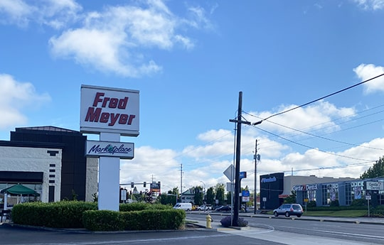Exerior of Hazel Dell Fred Meyer
