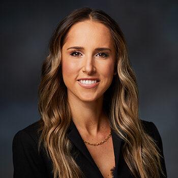 Studio portrait of Katie Koval, Johnson Creek Branch Manager