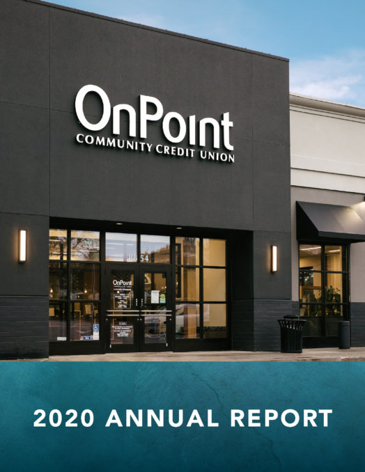 Cover of OnPoint 2020 Annual Report