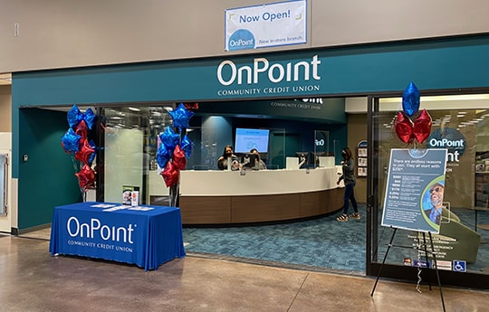 Entrance to OnPoint Orchards Branch