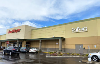 Exterior of South Hillsboro OnPoint Branch at Fred Meyer