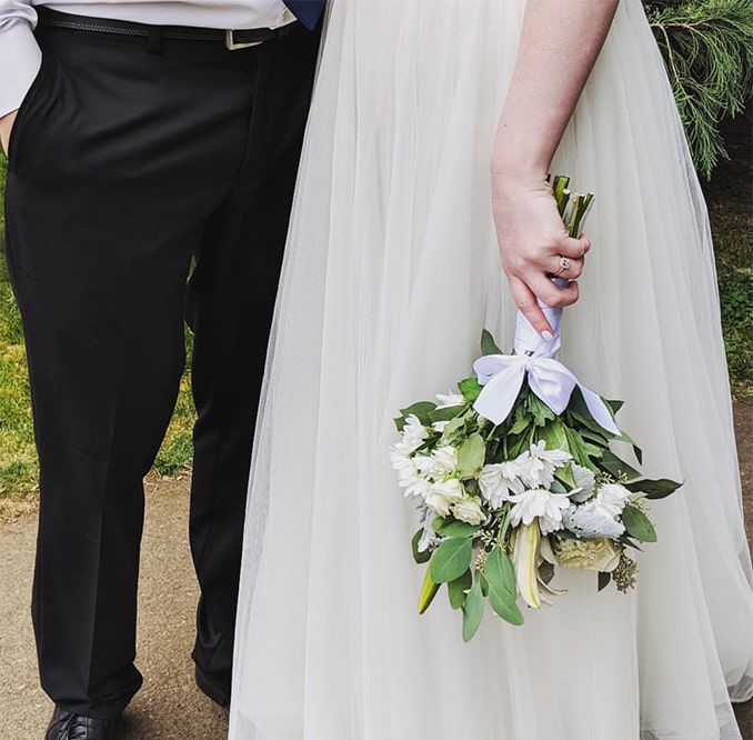 Laurissa Bybee employee spotlight-Laurissa abstract wedding photo