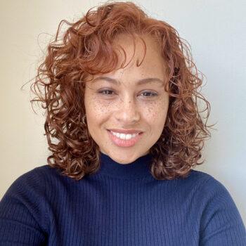 Mieya headshot selfie-Employee Spotlight with Mieya Romine