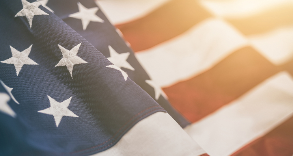 American Flag_Employee Spotlight with OnPoint Military Veterans