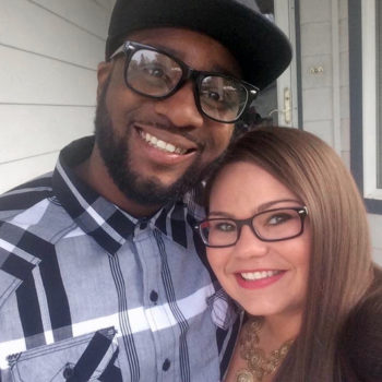 Employee Spotlight with Ashleigh Lowell_Ashleigh with her partner
