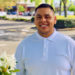 James Fuentes spotlight - James standing in the Orenco Station branch parking lot