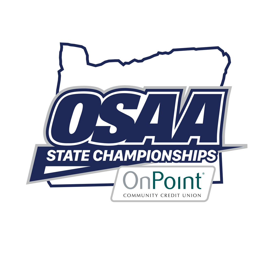 OSAA and OnPoint joint logo