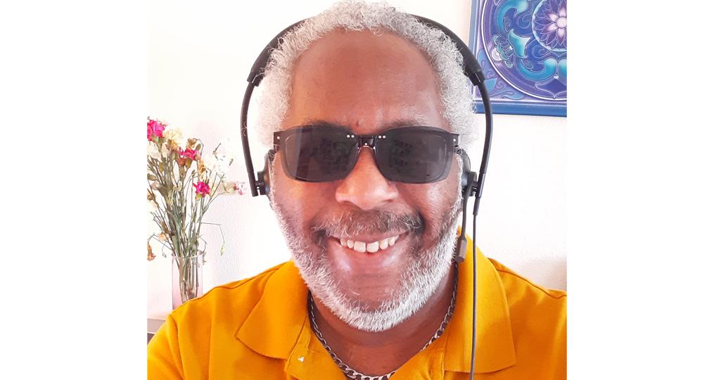 employee spotlight with Ken Cosey_Ken on sunglasses day