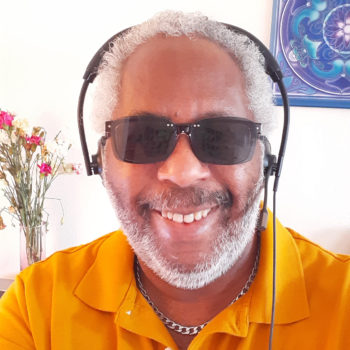 employee spotlight with Ken Cosey_Ken on sunglasses day