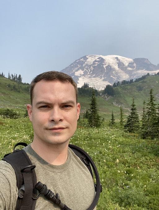 employee spotlight with Billy Gleason-Billy at Mt. Saint Helens