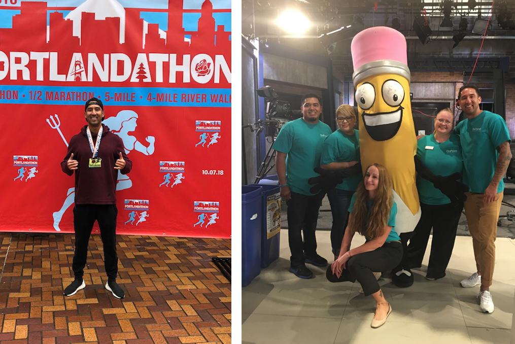 brian boehne community involvement portland marathon and schoolhouse supplies