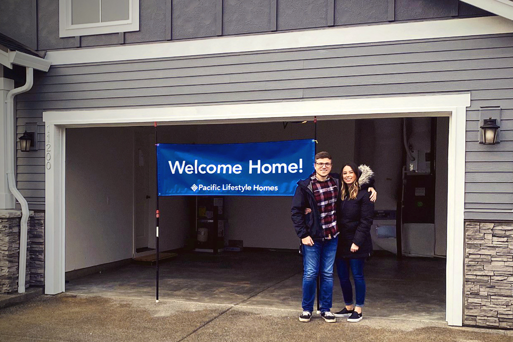 employee spotlight Vancouver Waterfront Branch Team_Shelby Wade new house with partner